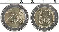 Изображение Монеты Эстония 2 евро 2018 Биметалл UNC- 100 лет Эстонской ре