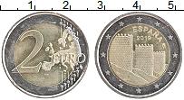 Изображение Монеты Испания 2 евро 2019 Биметалл UNC- Старый город Авила