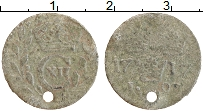 Изображение Монеты Швеция 1 эре 1717 Серебро VF- Карл XII