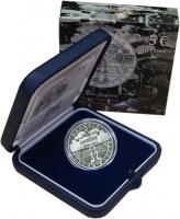 Изображение Подарочные монеты Италия 5 евро 2014 Серебро Proof