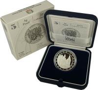 Изображение Подарочные монеты Италия 5 евро 2015 Серебро Proof