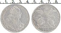 Изображение Монеты Нюрнберг 1 талер 1757 Серебро XF- Франциск I