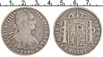 Изображение Монеты Мексика 8 реалов 1796 Серебро VF+ Испанская колония. К