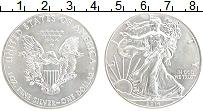 Изображение Монеты США 1 доллар 2014 Серебро UNC
