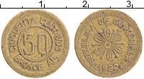 Изображение Монеты Гватемала 50 сентаво 1922 Латунь XF-