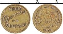 Изображение Монеты Гватемала 1/2 сентаво 1932 Латунь XF