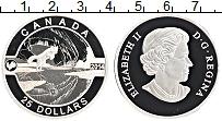 Изображение Монеты Канада 25 долларов 2014 Серебро Proof Елизавета II.Полярна