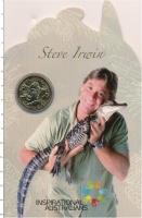 Изображение Подарочные монеты Австралия 1 доллар 2009 Латунь UNC Стив Ирвин. Оригинал