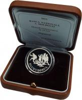 Изображение Подарочные монеты Молдавия 50 лей 2013 Серебро Proof