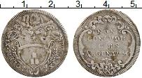 Изображение Монеты Ватикан 1 джулио 1709 Серебро VF+ Клемент XI
