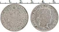 Изображение Монеты Австрия 20 крейцеров 1841 Серебро XF Фердинанд I