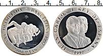 Изображение Монеты Испания 2000 песет 1992 Серебро Proof-