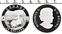 Изображение Монеты Канада 25 долларов 2014 Серебро Proof