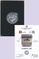Изображение Подарочные монеты Италия 5 евро 2020 Серебро UNC