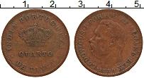 Продать Монеты Португальская Индия 1/4 таньга 1886 Медь