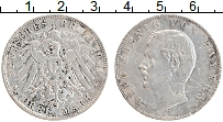 Изображение Монеты Бавария 3 марки 1913 Серебро VF D Отто