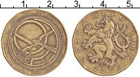 Изображение Монеты Чехия 20 крон 2000 Латунь XF- Миллениум