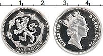 Изображение Монеты Великобритания 1 фунт 1994 Серебро Proof