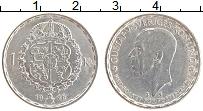 Изображение Монеты Швеция 1 крона 1946 Серебро XF Густав V