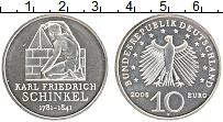 Изображение Монеты Германия 10 евро 2006 Серебро UNC F. 225 лет со дня ро