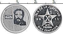 Продать Монеты Остров Хувентуд 10 сентаво 2011 Алюминий