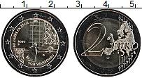 Изображение Мелочь Германия 2 евро 2020 Биметалл UNC 50 лет коленопреклон