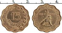 Изображение Монеты Парагвай 15 сентим 1953 Латунь XF
