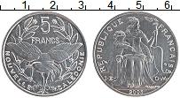 Продать Монеты Новая Каледония 5 франков 2003 Алюминий
