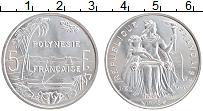 Изображение Монеты Полинезия 5 франков 1975 Алюминий UNC-