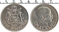 Изображение Монеты Малави 1 квача 1971 Медно-никель UNC-