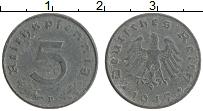Изображение Монеты Германия 5 пфеннигов 1947 Цинк XF