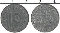 Изображение Монеты Германия 10 пфеннигов 1945 Цинк XF F