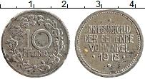 Изображение Монеты Германия : Нотгельды 10 пфеннигов 1918 Железо XF Фовинкель