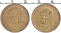 Изображение Монеты Бразилия 500 рейс 1938 Латунь UNC- Фейдо