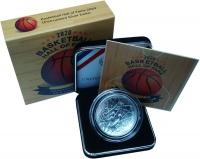 Изображение Подарочные монеты США 1 доллар 2020 Серебро UNC Монета США 1 доллар.