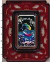 Изображение Подарочные монеты Острова Кука 1 доллар 2014 Серебро Proof