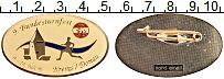 Изображение Значки, ордена, медали Австрия Знак 1996 Латунь UNC- Знак Марафон Krems-D