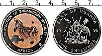 Изображение Значки, ордена, медали Уганда 1000 шиллингов 1996 Медно-никель UNC