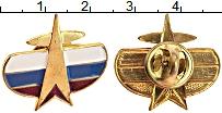 Изображение Значки, ордена, медали Россия Знак 0 Латунь UNC- Знак Космических вой