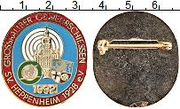 Изображение Значки, ордена, медали Германия Знак 1992 Латунь UNC- Спортивный стрелкоый