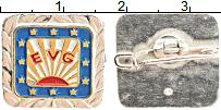 Изображение Значки, ордена, медали Европа Значок 0 Медно-никель UNC-