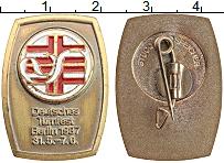 Изображение Значки, ордена, медали ФРГ Значок 1987 Латунь UNC-