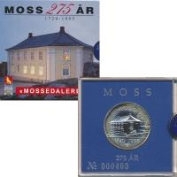 Изображение Подарочные монеты Норвегия Жетон 1995 Серебро UNC