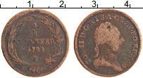 Изображение Монеты Австрия 1/2 крейцера 1781 Медь VF Иосиф II. S