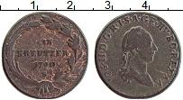 Изображение Монеты Австрия 1 крейцер 1790 Медь VF Иосиф II. S