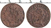 Изображение Монеты Австрия 1 крейцер 1800 Медь XF Франц II. А
