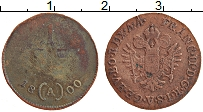 Изображение Монеты Австрия 1/4 крейцера 1800 Медь VF
