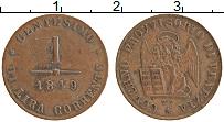 Продать Монеты Венеция 1 чентезимо 1849 Медь