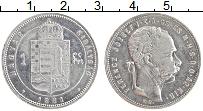 Изображение Монеты Венгрия 1 форинт 1881 Серебро XF Франц Иосиф I