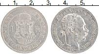 Изображение Монеты Венгрия 1 форинт 1886 Серебро XF